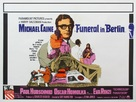 Funeral in Berlin - British Movie Poster (xs thumbnail)