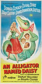An Alligator Named Daisy - British Theatrical poster (xs thumbnail)