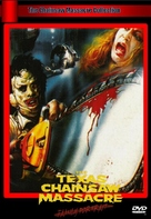 The Texas Chain Saw Massacre - German DVD cover (xs thumbnail)