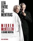 The Good Liar - Brazilian Movie Poster (xs thumbnail)