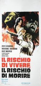Wenn es Nacht wird auf der Reeperbahn - Italian Movie Poster (xs thumbnail)