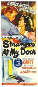 Stranger at My Door - Australian Movie Poster (xs thumbnail)