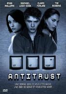 Antitrust - French DVD movie cover (xs thumbnail)