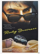 Risky Business - French Movie Poster (xs thumbnail)