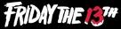Friday the 13th - Logo (xs thumbnail)