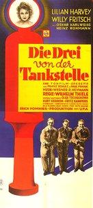 Die drei von der Tankstelle - German Movie Poster (xs thumbnail)