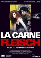 La carne - German DVD cover (xs thumbnail)