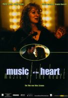 Music of the Heart - German Movie Poster (xs thumbnail)