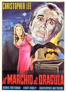Scars of Dracula - Italian Movie Poster (xs thumbnail)