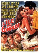 The Bribe - Belgian Movie Poster (xs thumbnail)