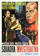 Down Three Dark Streets - Italian Movie Poster (xs thumbnail)