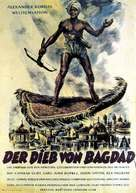 The Thief of Bagdad - German Movie Poster (xs thumbnail)