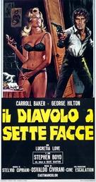 Il diavolo a sette facce - Italian Movie Poster (xs thumbnail)