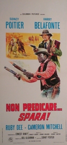 Buck and the Preacher - Italian Movie Poster (xs thumbnail)