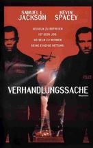 The Negotiator - German VHS movie cover (xs thumbnail)
