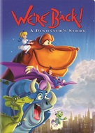 We're Back! A Dinosaur's Story - DVD cover (xs thumbnail)