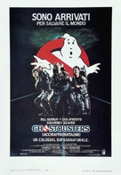 Ghostbusters - Italian Theatrical movie poster (xs thumbnail)