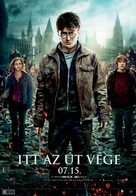 Harry Potter and the Deathly Hallows: Part II - Hungarian Movie Poster (xs thumbnail)