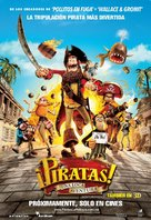 The Pirates! Band of Misfits - Mexican Movie Poster (xs thumbnail)