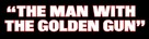 The Man With The Golden Gun - Logo (xs thumbnail)