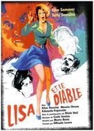 Lisa e il diavolo - French DVD cover (xs thumbnail)