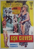 Love Has Many Faces - Turkish Movie Poster (xs thumbnail)
