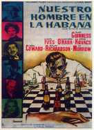 Our Man in Havana - Spanish Movie Poster (xs thumbnail)