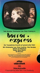 Horror Express - German VHS movie cover (xs thumbnail)