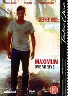 Maximum Overdrive - British DVD movie cover (xs thumbnail)