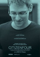 Citizenfour - Italian Movie Poster (xs thumbnail)