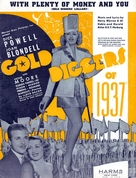 Gold Diggers of 1937 - poster (xs thumbnail)