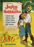 Seven Cities of Gold - Danish Movie Poster (xs thumbnail)