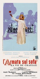 La vie de château - Italian Movie Poster (xs thumbnail)