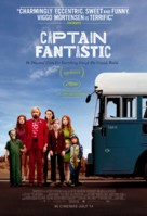 Captain Fantastic - British Movie Poster (xs thumbnail)