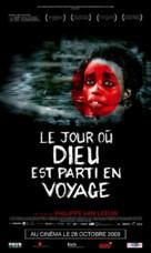 Le jour où Dieu est parti en voyage - Belgian Movie Poster (xs thumbnail)