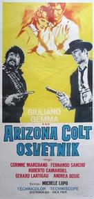 Arizona Colt - Yugoslav Movie Poster (xs thumbnail)