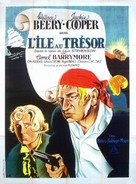 Treasure Island - French Movie Poster (xs thumbnail)