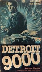 Detroit 9000 - Argentinian VHS cover (xs thumbnail)