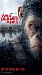 War for the Planet of the Apes - Singaporean Movie Poster (xs thumbnail)