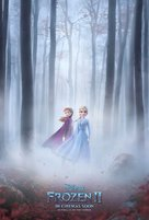 Frozen II - British Movie Poster (xs thumbnail)