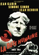 La bête humaine - French Movie Poster (xs thumbnail)