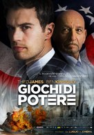 Backstabbing for Beginners - Italian Movie Poster (xs thumbnail)
