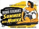 Sommaren med Monika - British Movie Poster (xs thumbnail)