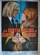 La bestia uccide a sangue freddo - Italian Movie Poster (xs thumbnail)