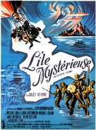 Mysterious Island - French Movie Poster (xs thumbnail)