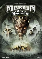 Merlin and the War of the Dragons - Polish Movie Cover (xs thumbnail)