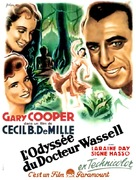 The Story of Dr. Wassell - French Movie Poster (xs thumbnail)