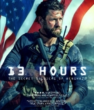 13 Hours: The Secret Soldiers of Benghazi - Blu-Ray movie cover (xs thumbnail)