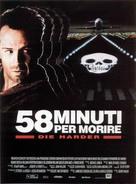 Die Hard 2 - Italian Movie Poster (xs thumbnail)