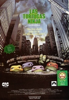 Teenage Mutant Ninja Turtles - Argentinian VHS movie cover (xs thumbnail)